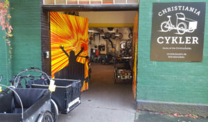 Christiania bike shop