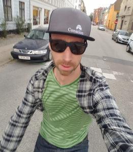 Copenhagen selfie